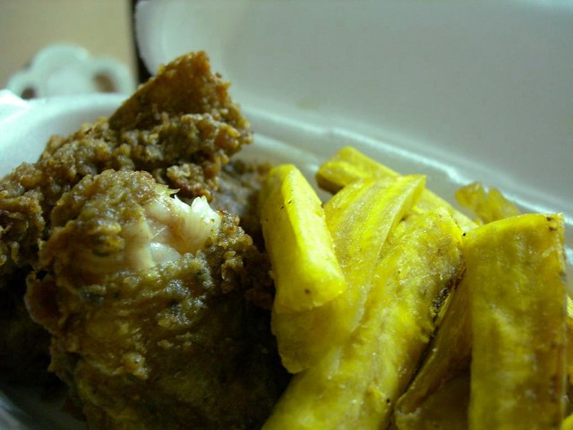 Guyanese Food - Fish and Chips | Fried fish with plantain ch… | Flickr