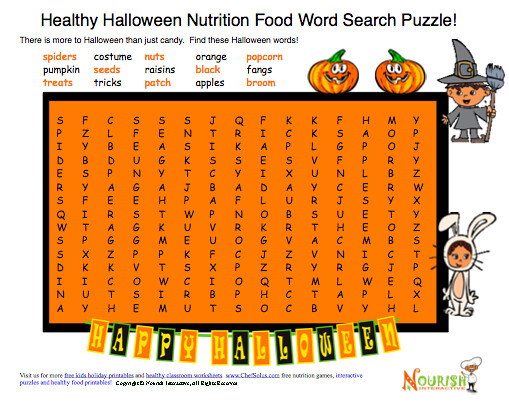 Free Printable Halloween Labels For Food