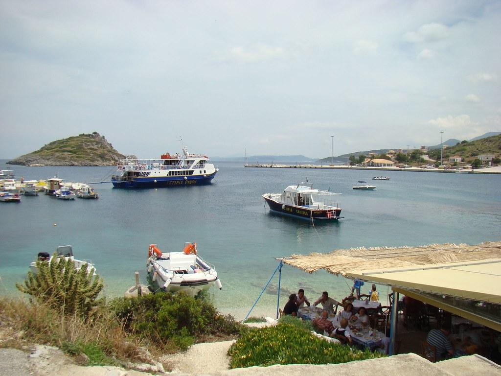Greek Island Fishing Boats
