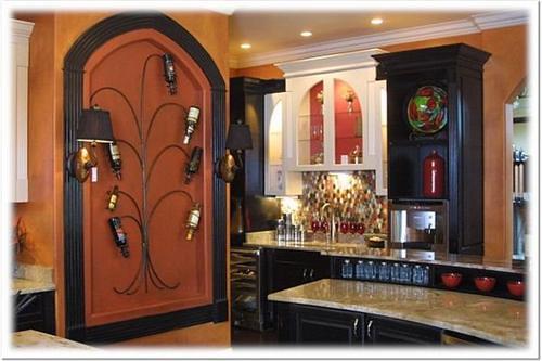 Mediterranean Kitchen Wall Tiles