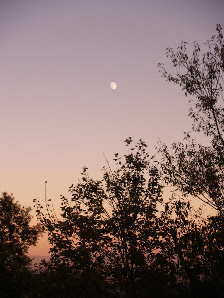 Coucher de soleil et lever de la lune sur les appalaches flickr - Heure de lever et coucher de la lune ...