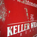 Keller Williams busted real estate sign