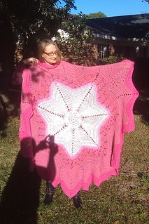 7 point star afghan | by pauladean