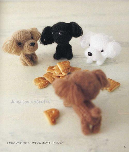 Japanese Amigurumi Blog : AMI AMI DOGS 2 BY MITSUKI HOSHI - JAPANESE AMIGURUMI CROCH ...