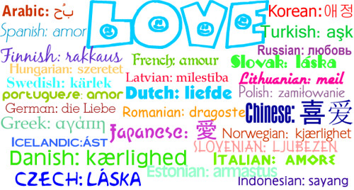Love In 28 Different Languages  The Word Love In 28 -1265