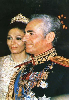 Mohammad reza pahlavi the king of iran and shahbanou fara for Shah bano farah pahlavi