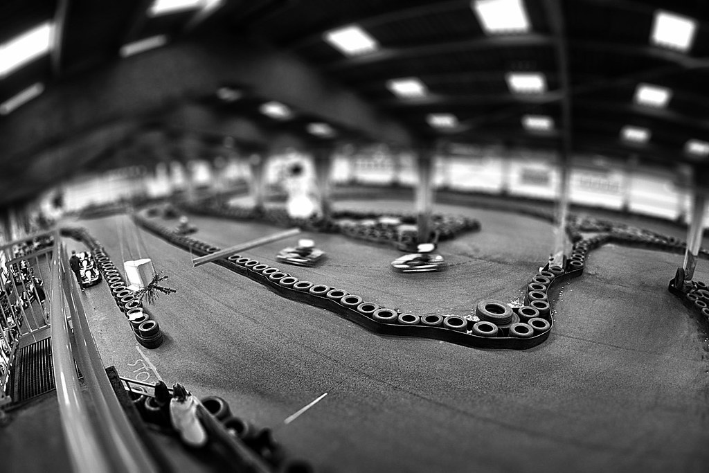 piste de karting vue de la piste de kart de gu rande loi flickr. Black Bedroom Furniture Sets. Home Design Ideas