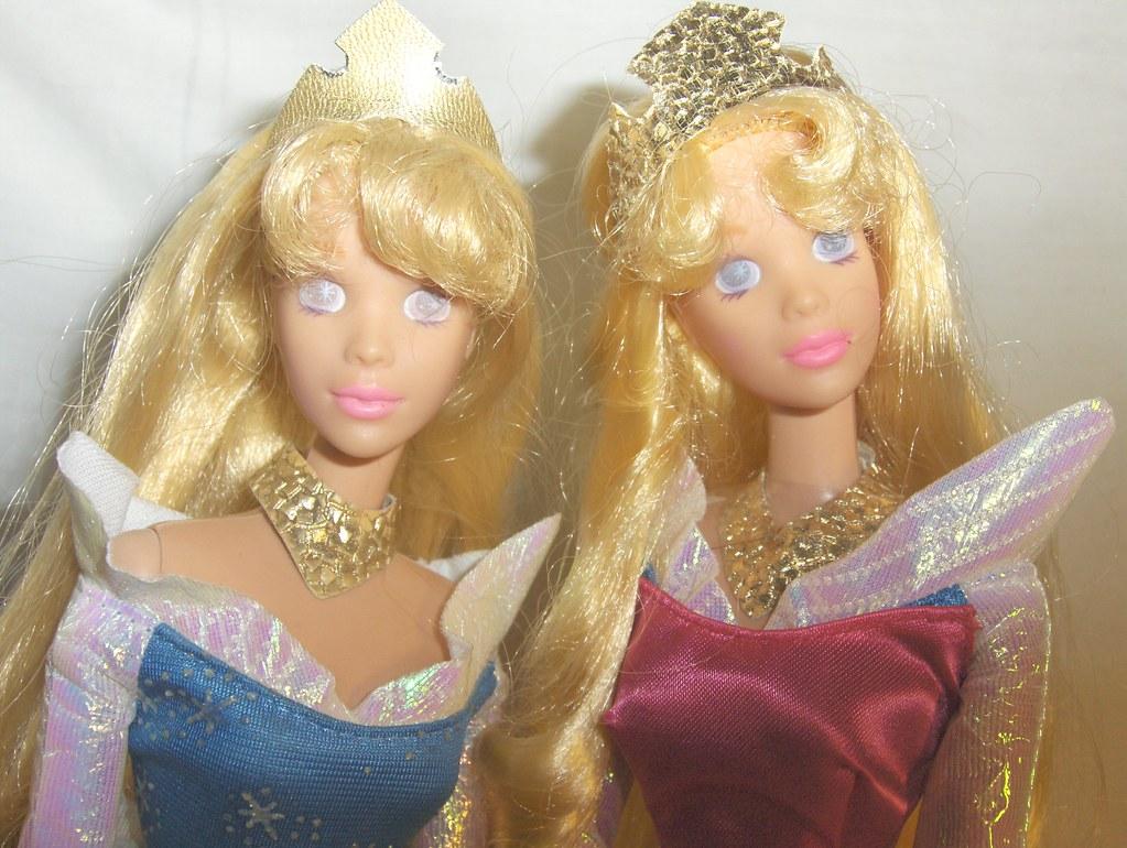 My Two Sleeping Beauty Dolls Belle25890 Flickr