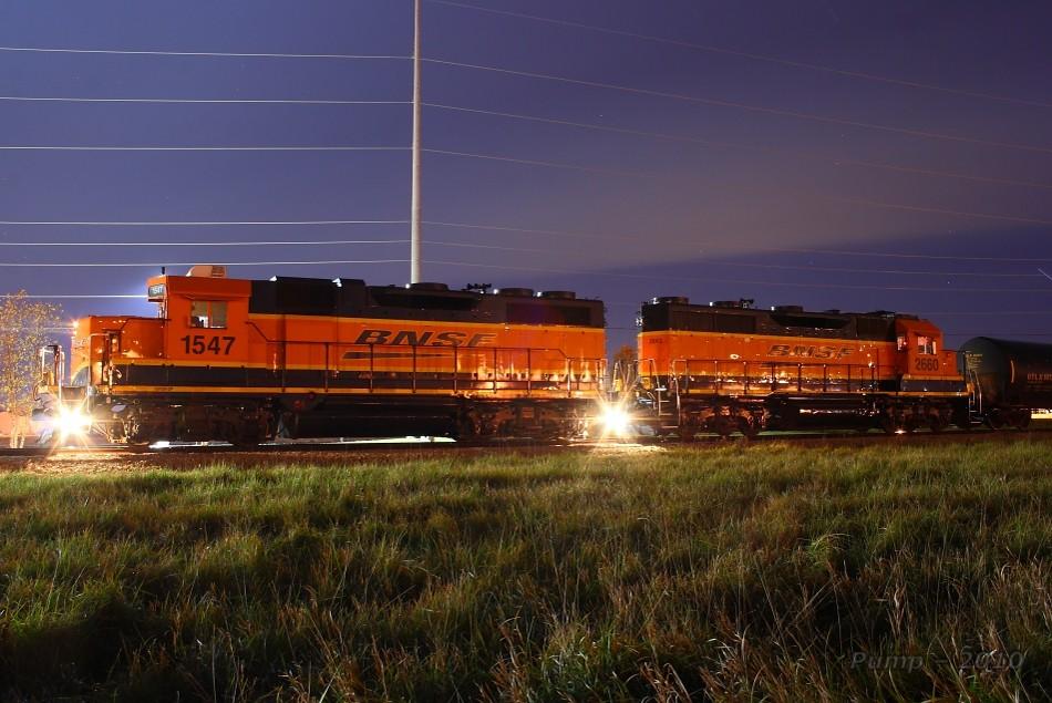 Bnsf Local Train At Gardner Ks Working Gardner Is A
