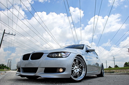 07 BMW 335i on SEVAS WHEELS R77 | by GREATONE!