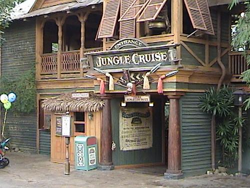 Jungle Cruise Entrance Adventureland Disneyland