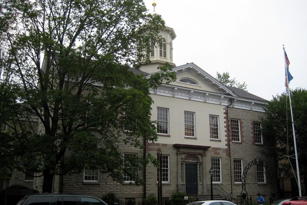 Hudson Ny Map >> NY - Kingston - Stockade Historic District: Ulster County ...