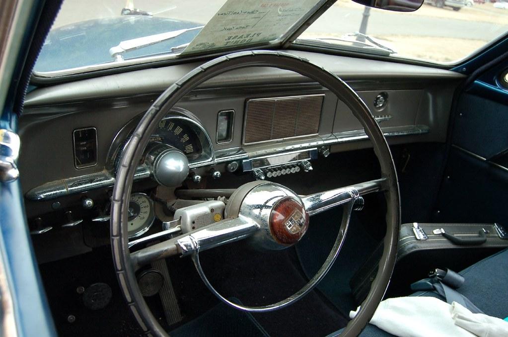 1950 Studebaker Champion Dashboard Taken During The 2007