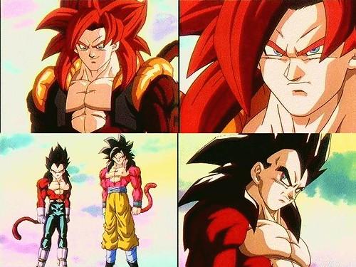 Dragon Ball z Goku Ssj4 Original Dragon Ball z Vegeta Goku
