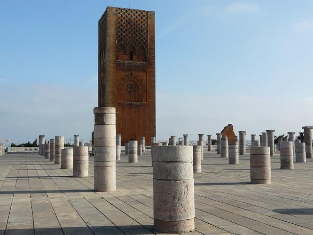 Minarete inacabado de Rabat (Marruecos)