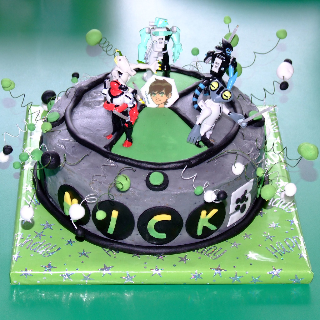 Ben 10 Cake For Nicky's Fifth Birthday