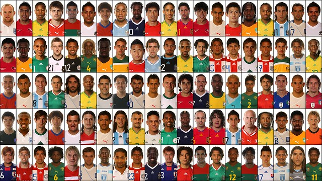 2010 World Cup Top Players : Top the ugliest soccer players of world cup