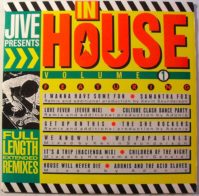 1989 jive records house music compilation 1980s vintage for House music 1995