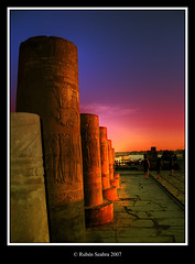 * Sunset and Architecture