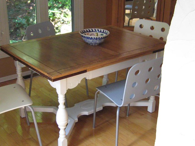 ... Refinished Dining Room Table | By One Fat Man