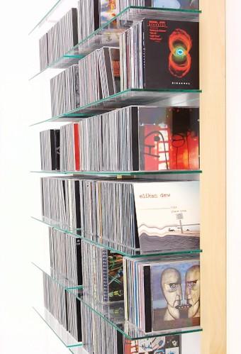 cd shelf maple cd regal storay ahorn cd regal zur. Black Bedroom Furniture Sets. Home Design Ideas