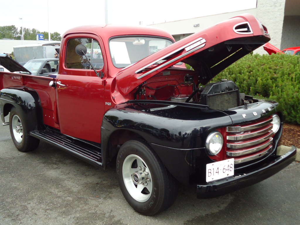1949 ford f 68 pickup truck ford of canada custom cab. Black Bedroom Furniture Sets. Home Design Ideas