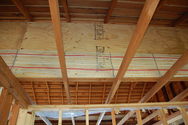 Electrical Wires Running In The Attic