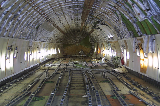 Polar air cargo boeing 747 132 sf n857ft the interior of for Interieur 747 cargo