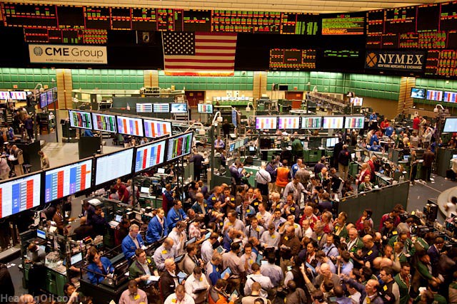 Nymex Cmegroup Trading Room Floor 68 Of 70 Heating