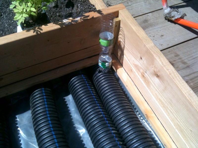 Plastic Raised Garden Bed With Water Reservoir