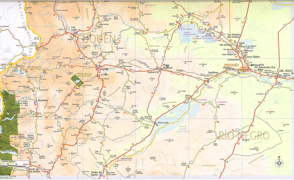 map of argentina rivers rosario