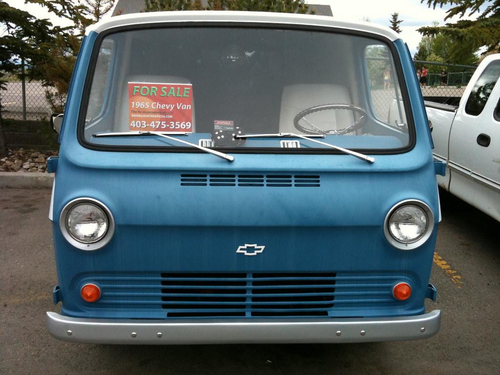 Sweet '65 chevy van | Chrissie | Flickr