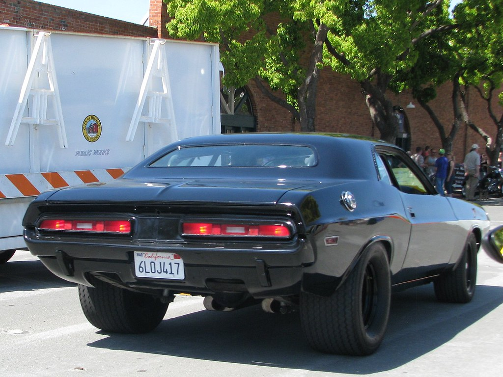 1971 Dodge Challenger 6loj417 3 Photographed At The
