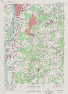 Broad Brook Quadrangle 1972 - USGS Topographic Map 1:24,000 | by uconnlibrariesmagic
