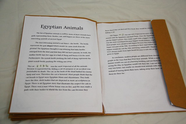 How to start an essay on egypt?