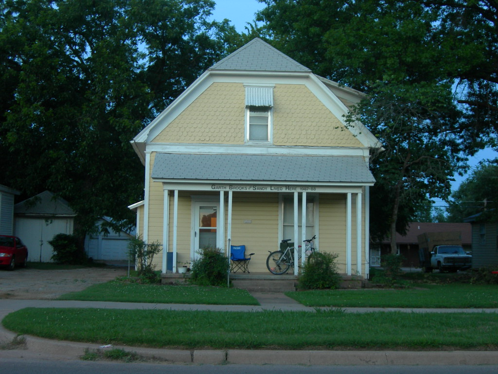 Garth Brooks 39 House Stillwater Oklahoma Garth And His