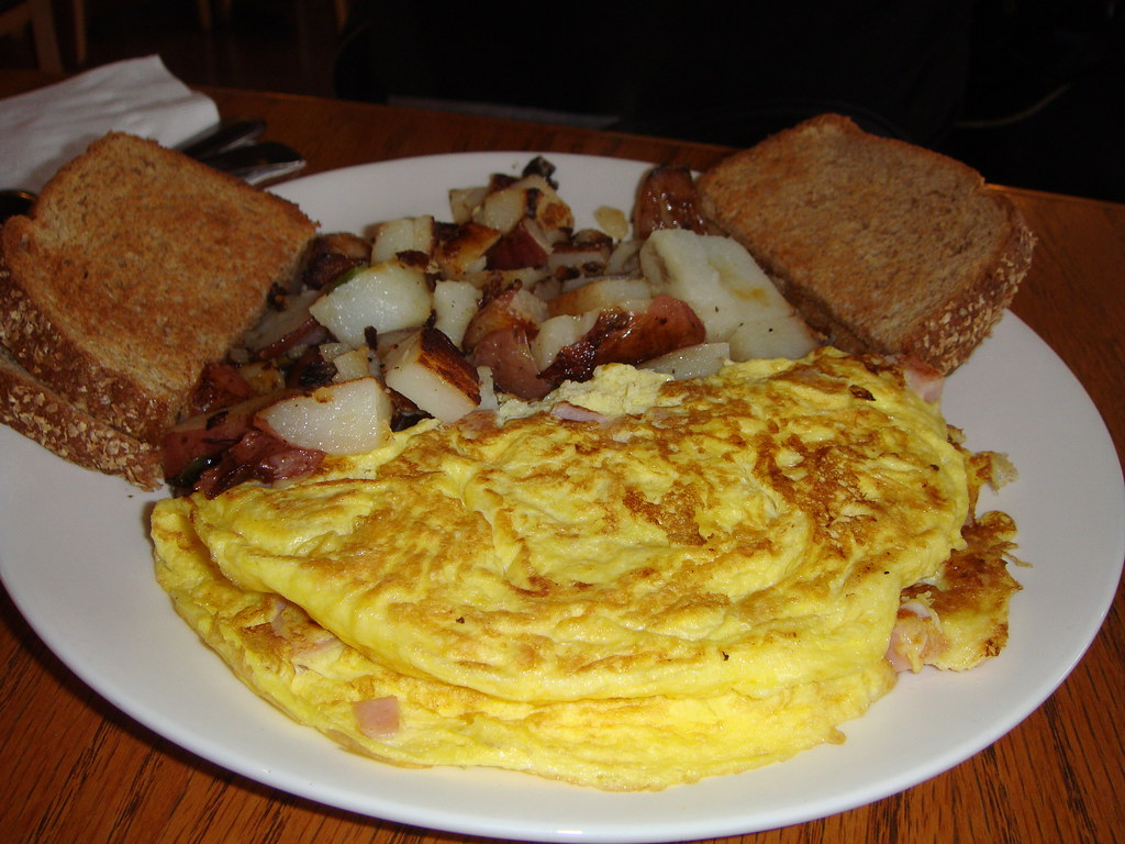 Ham & Cheese Omelet | Anna Haight | Flickr