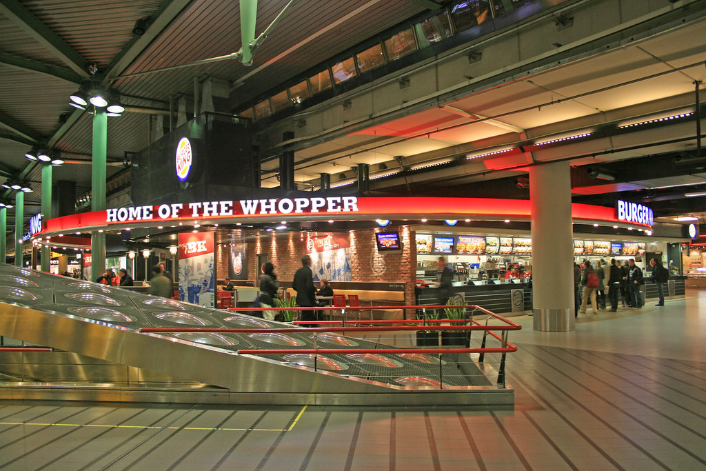 Burger King Schiphol Airport Plaza Netherlands Burger Ki Flickr