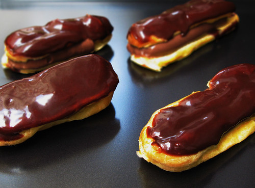 Chocolate Éclairs | Pierre Hermé's recipe. For more, go to N ...