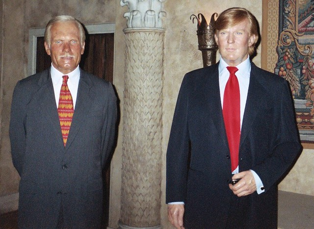 Ted Turner and Donald ...
