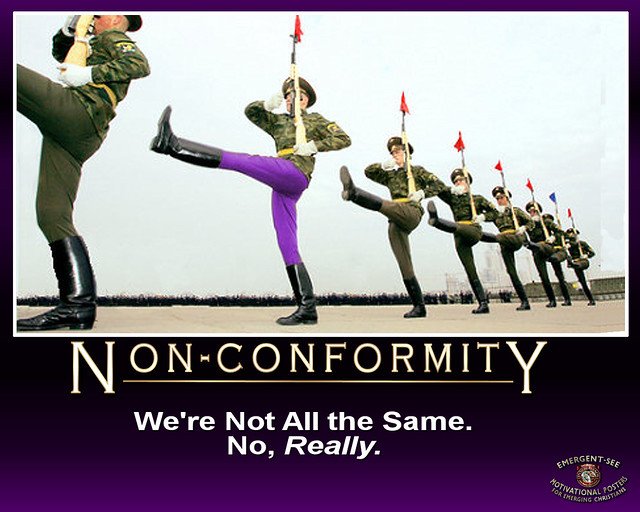 conformity to conform or not to