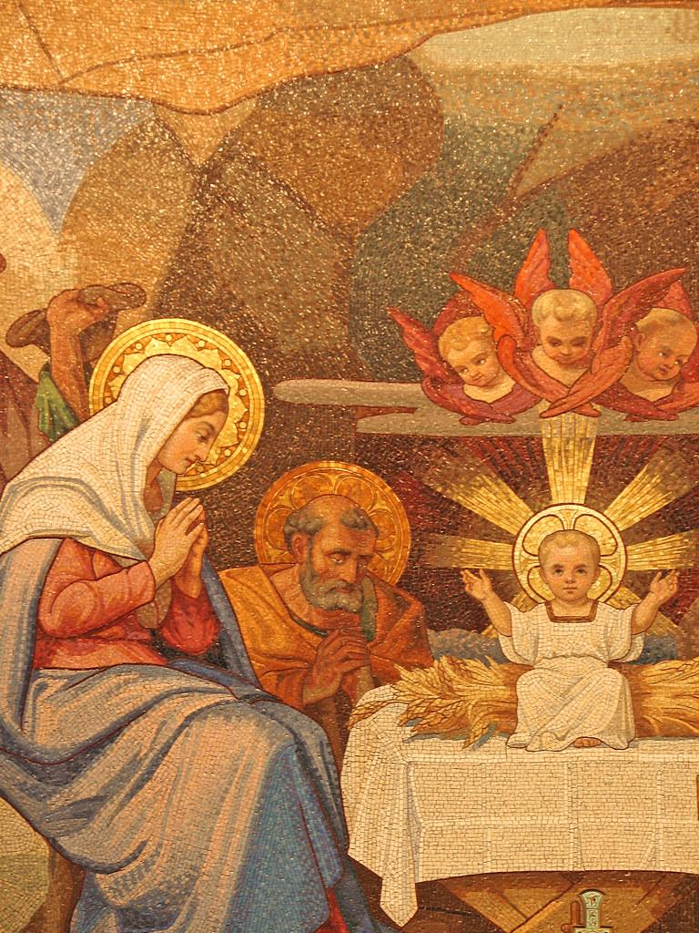 """Et Verbum caro factum est   To meditate upon the """"joyful ..."""