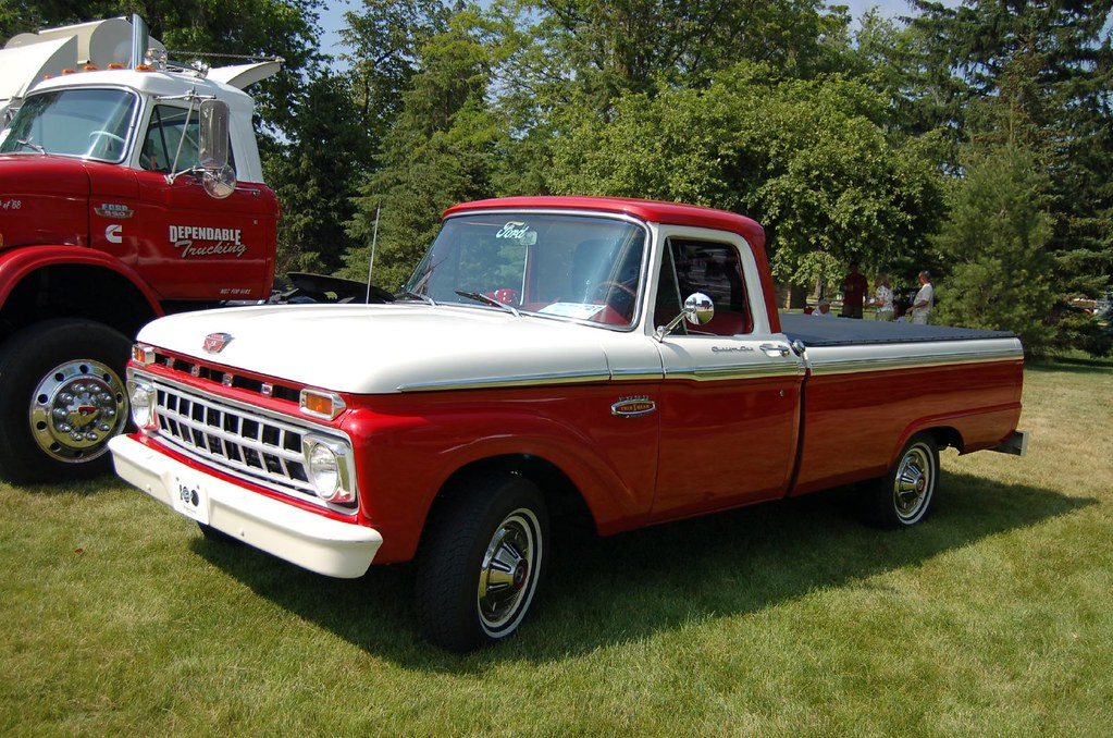 1966 Ford F100 | Taken at the Motor Muster in Greenfield ...