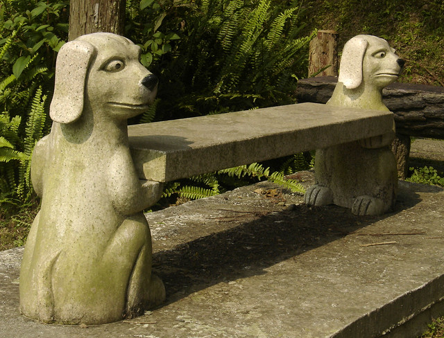 Dog bench flickr photo sharing
