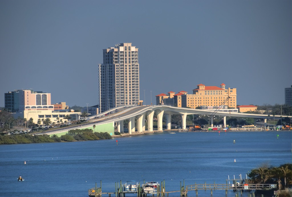 East View Downtown Clearwater Florida Robert Quot Op Quot Parrish Flickr