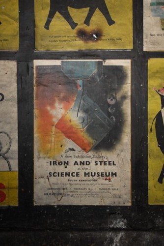 Iron & Steel at the Science Museum poster, c1959 | by mikeyashworth