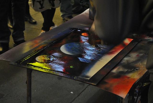 new york street artist spray paint artwork flickr. Black Bedroom Furniture Sets. Home Design Ideas