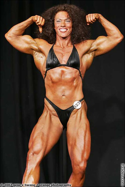 Kate Baird | More female muscle at: genex magazine online