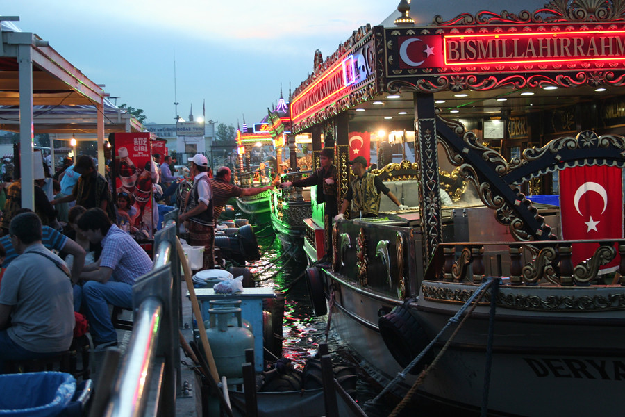 Fish Restaurant at Bosphorus, Istanbul More cool stuff her ...