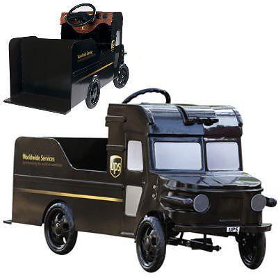 All Car Company >> UPS Truck Pedal Car | Flickr - Photo Sharing!